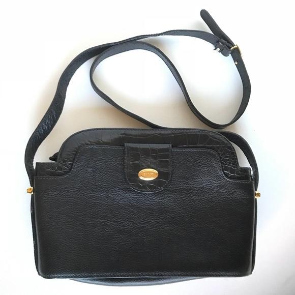 Bally Bags   Crocodile Pebbled Leather Crossbody Bag   Poshmark 4f9a52da00